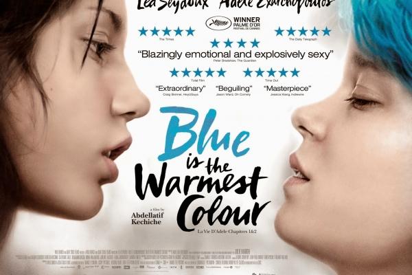 BLUE IS THE WARMEST COLOR - UK Poster