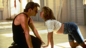 Patrick Swayze and Jennifer Grey heat up the screen with some naughty dance moves