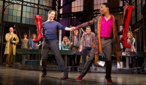 KINKY BOOTS, produced by Hunter Arnold, and winner of the 2013 Tony for Best Musical, is currently running on Broadway.