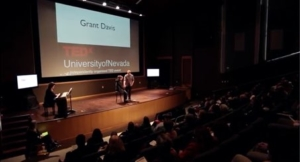 WHAT ABOUT ME? Grant's TEDx Talk at the University of Nevada continued his advocacy for families struggling with drug abuse.